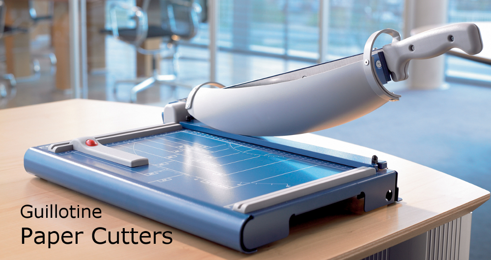 large paper cutter All paper cutter equipment paper cutters and trimmers can be extremely useful in a variety of environments capable of cutting materials as delicate as photographs.