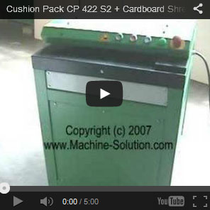 AABES © Cushion Pack CP422 Series2+ High Capacity Cardboard Shredder - CUSHION CP422 S2