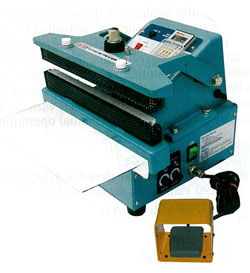 AIE-200CA 8 Auto/Manual Constant Heat Sealer AIE-200CA 8 Auto/Manual Constant Heat Sealer