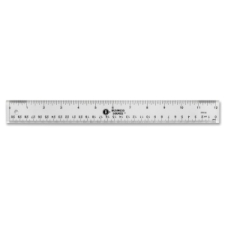 Business Source Ruler business source, clear, shatter proof, ruler, ruler, business source, acrylic, imperial, metric, 1 each, 0, bsn32359, 035255323598, 41111604
