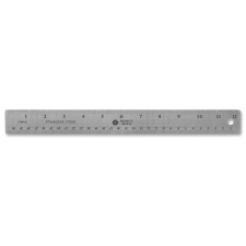 Business Source Ruler business source, silver, nonskid, ruler, ruler, business source, stainless steel, metric, 1 each, printed, 0, bsn32361, 035255323611, 41111604
