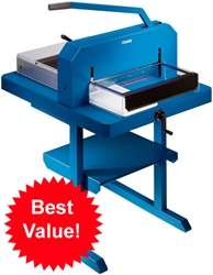 Dahle 846 Combo Package 846 Stack Paper Cutter with 712 Stand