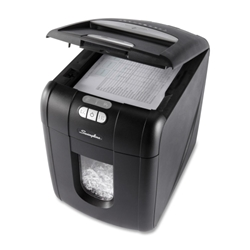 Swingline 100X Stack-and-Shred Personal Cross Cut Paper Shredder