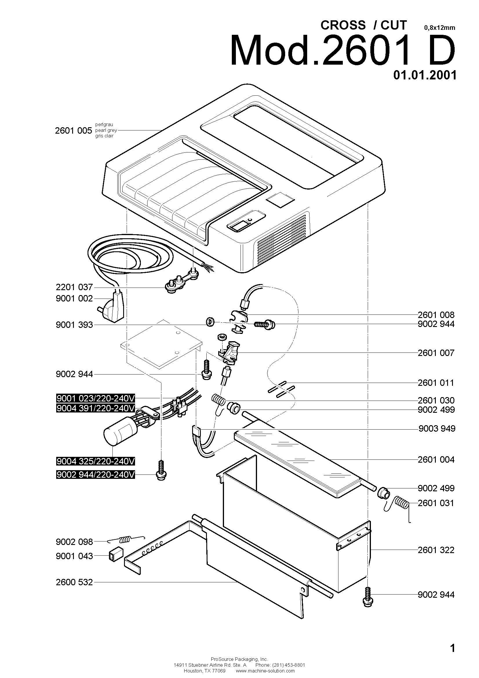parts assistant mbm destroyit 2601 d 8x12mm Office Layout Planning page 1