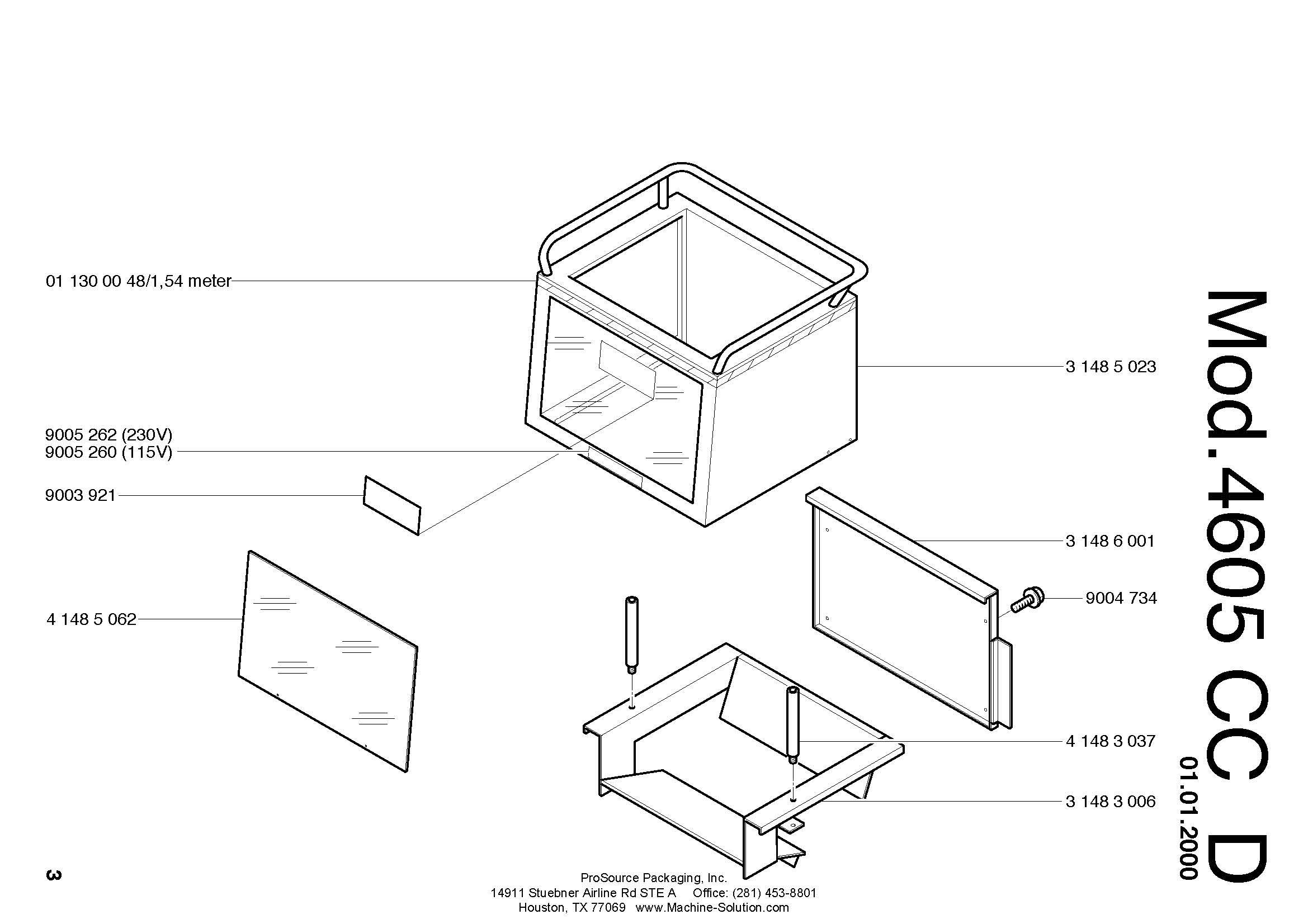 parts assistant mbm destroyit 4605 cc d Home Office Layout page 3