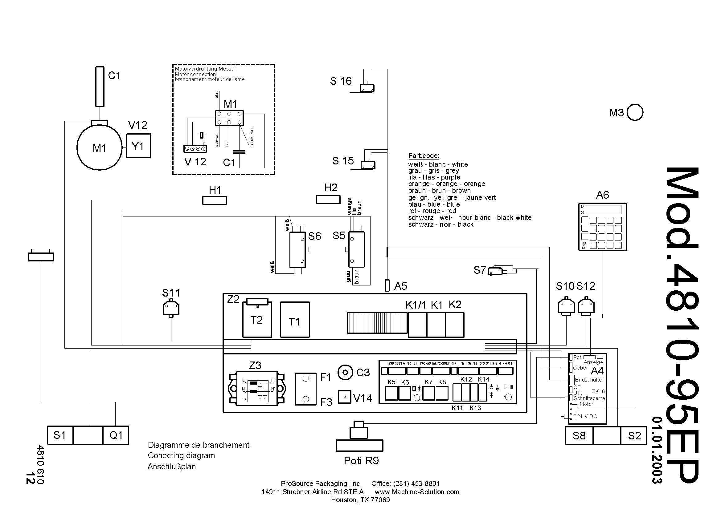 parts assistant mbm triumph 4810 95 ep paper cutter rh machine solution com Guillotine Info Parts of a Guillotine