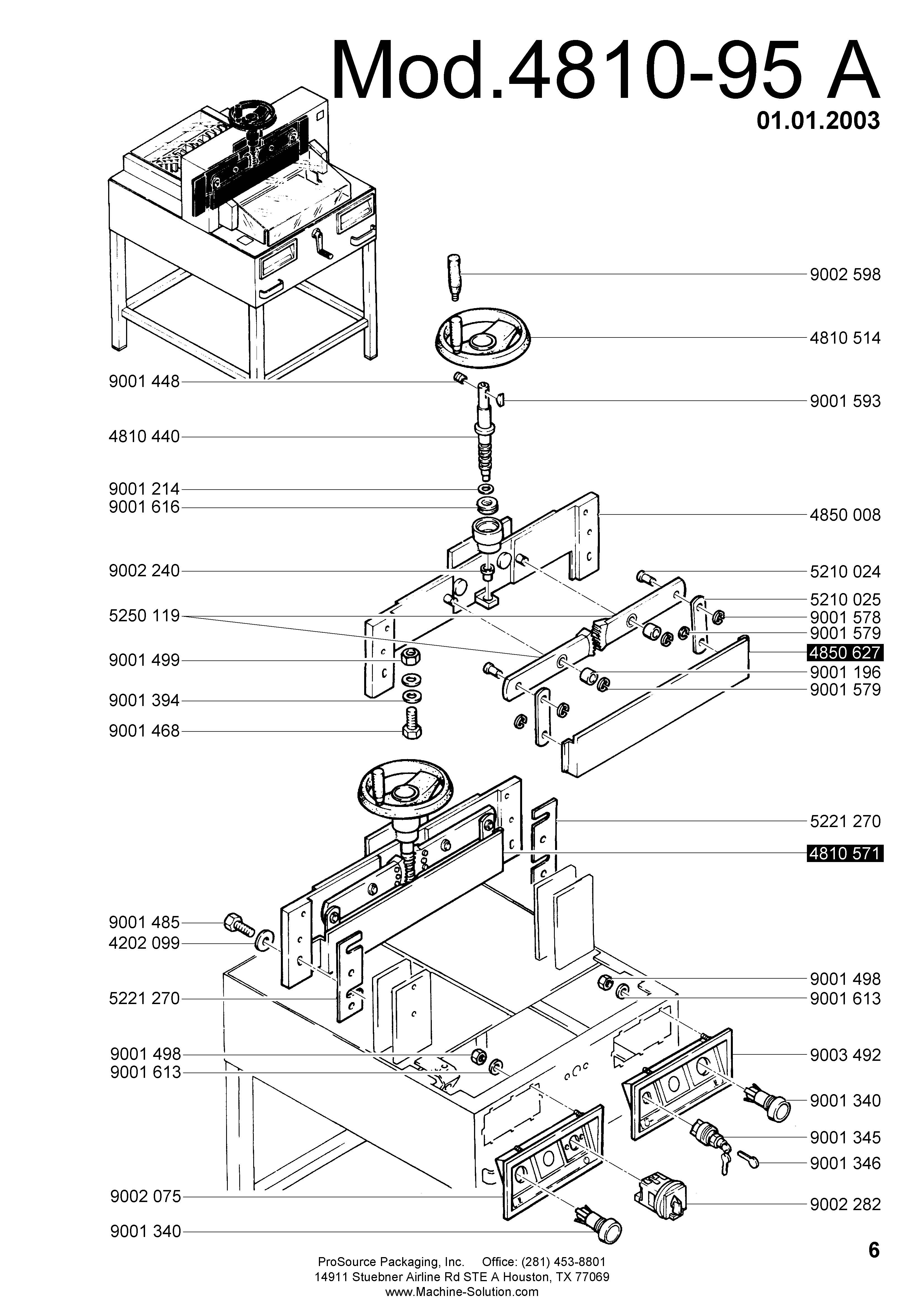 parts assistant mbm triumph 4810 95 a paper cutter rh machine solution com V 4810 White Round V 4810 White Round