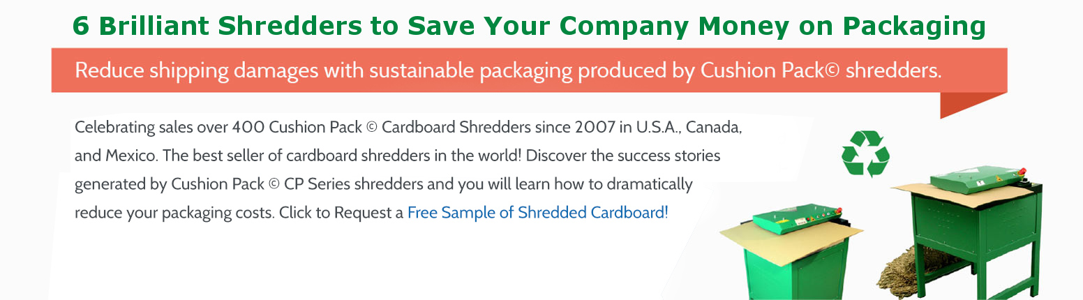 cardboard shredders cushion pack cp422 s2 profipack corrugated cardboard shredders offered by the leading office equipment dealer in the usa where value quality and customer support is offered by an iso 9001 2008