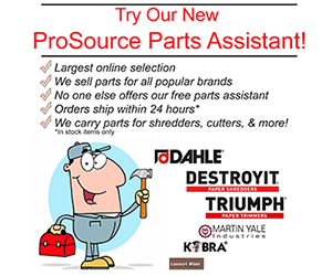 ProSource Parts Assistant- help you find parts for your paper shredder,folder,cutter,drill, and more