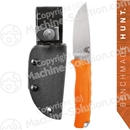 "Benchmade 15008-ORG Steep Mountain Hunter Fixed 3.50"" S30V Blade, Orange Santoprene Handles, Kydex Sheath included"