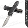 "Benchmade 4600 Phaeton AUTO OTF 3.45"" Satin S30V Drop Point Blade, Black Aluminum Handles"