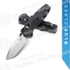 "Benchmade 585 Mini-Barrage AXIS-Assisted 2.91"" Satin Plain Blade, Valox Handles"
