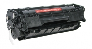 Compatible 1010/12 Toner Cartridge MICR - Page Yield 2000 micr, laser toner cartridge, remanufactured, compatible, monochrome laser printer, black, q2612a-m / 02-81132-001, hp lj 1010, 1012, 1015, 1018, 1020, 1022; fax 3015, 3020, 3030, 3050, 3052, 3055, m1005 mfp, m1319 - micr