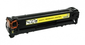 Compatible 1215/Canon MF8050 Yellow - Page Yield 1400 laser toner cartridge, remanufactured, compatible, color laser printer, cb542a / 1977b001aa (125a), hp color lj cp1210, cp1215, cp1510, cp1515, cp1518, cm1312, p1200, p1215, p1217, p1500, p1515 series - yellow (compatible with canon imageclass mf8030, mf8050; lbp-5050; 116)