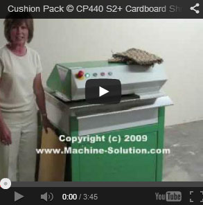 AABES © Cushion Pack CP440 Series2+ High Capacity Corrugated Shredder - CUSHION CP440 S2