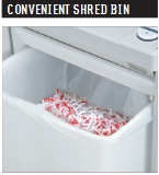 "MBM Destroyit 3104 Cross Cut Paper Shredder 3/32"" x 5/8"" - DES 3104 CROSS CUT DSH0316"