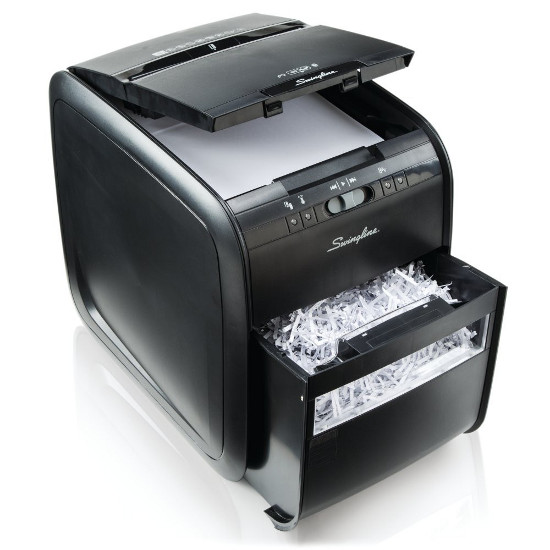Swingline® Stack-and-Shred™ 80X Auto Feed Shredder