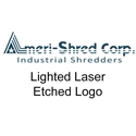 Ameri-Shred Lighted Laser Etched Logo Option for AMS-150, AMS-300, AMS-500, AMS-750, AMS-1000HD, AMS-1500HD, AMS-2000HD Series Ameri-Shred Lighted Laser Etched Logo Option for AMS-150, AMS-300, AMS-500, AMS-750, AMS-1000HD, AMS-1500HD, AMS-2000HD Series