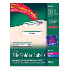 Avery 5866 Filing Labels