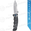 "Benchmade 484-1 Nakamura AXIS Folding Knife 3.08"" S90V Satin Plain Blade, Carbon Fiber Handles"