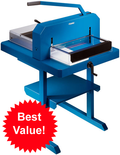 Dahle 848 Combo Package 848 Stack Paper Cutter with 718 Stand