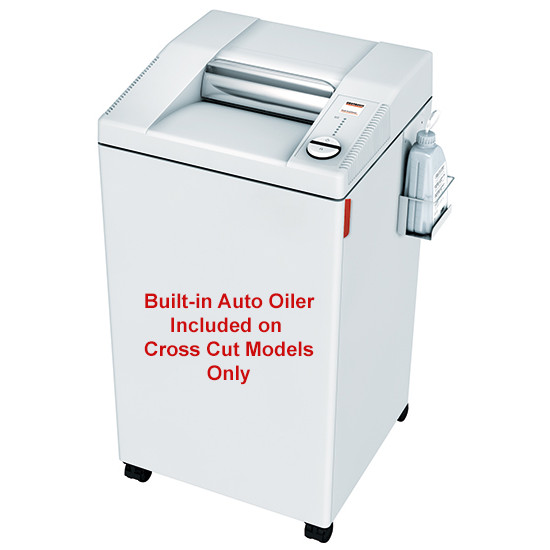 MBM Destroyit 2604 SMC Super Micro Cut NSA Approved Paper Shredder