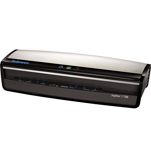 Fellowes Jupiter 2 125 Laminator with Pouch Starter Kit Fellowes Jupiter 2 125 Laminator with Pouch Starter Kit