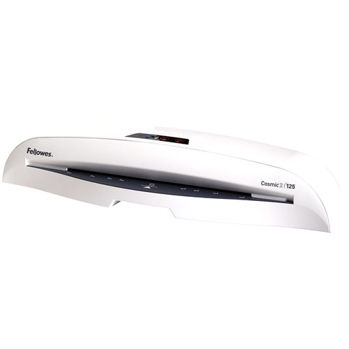 Fellowes Cosmic 2 125 Laminator with Pouch Starter Kit Fellowes Cosmic 2 125 Laminator with Pouch Starter Kit