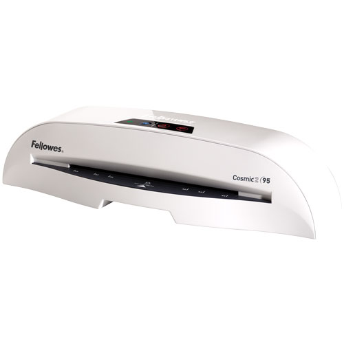 Fellowes Cosmic 2 95 Laminator with Pouch Starter Kit Fellowes Cosmic 2 95 Laminator with Pouch Starter Kit