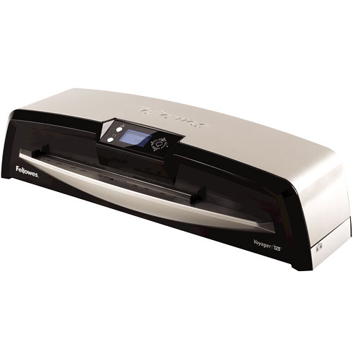 Fellowes Voyager 125 Laminator with Pouch Starter Kit Fellowes Voyager 125 Laminator with Pouch Starter Kit