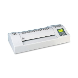 "General Binding Corporation  Heatseal Laminator, 13"" W, 6 Speed Settings, LCD Readout, LGY"