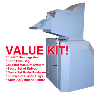 Herbold NSA High Security Disintegrator 35/42C Value Kit