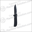 "HK 14702BK Automatic Entourage 3.74"" Tanto Knife"