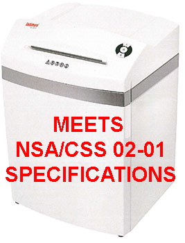 ProSource AABES ©  Pro 45 CC6 NSA/CSS 02-01 High Security Cross Cut Shredder ProSource AABES ©  Pro 45 CC6 NSA/CSS 02-01 High Security Cross Cut Shredder