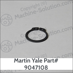 Martin Yale 9047108 Retaining Ring, 20mm x 1.5mm Martin Yale 9047108 Retaining Ring, 20mm x 1.5mm