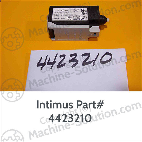 Intimus 4423210 Limit Switch for 407S Bull of Shredders Intimus 4423210 Limit Switch for 407S Bull of Shredders
