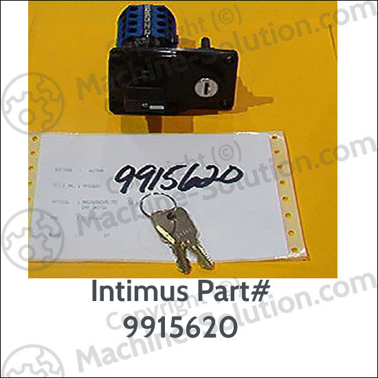 Intimus 9915620 On/Off/Reverse Switch for 407S Bull of Shredders Intimus 9915620 On/Off/Reverse Switch for 407S Bull of Shredders
