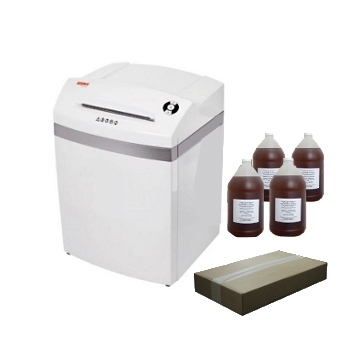 Intimus Pro 45 CC3PKG Shredder Package with Bags and Oil Intimus Pro 45 CC3PKG Shredder Package with Bags and Oil