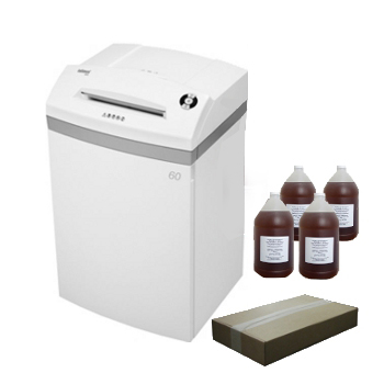Intimus Pro 60 CC4PKG Shredder Package with Bags and Oil Intimus Pro 60 CC4PKG Shredder Package with Bags and Oil