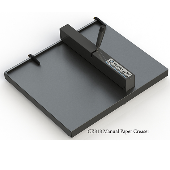 Martin Yale CR818 Manual Paper Creaser Martin Yale CR818 Manual Paper Creaser, small table top creaser, discount paper creaser, manual paper creaser, martin yale paper creasers, martin yale cr818 creaser, school paper creaser