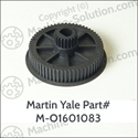 Martin Yale M-O1601083 PULLEY-GEAR COMBO-ON 1611 LIN Martin Yale M-O1601083 PULLEY-GEAR COMBO