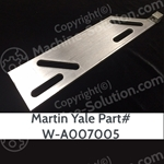 Martin Yale 7000E Replacement Mount Plate Number W-A007005