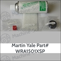 Survival Kit WRA1501XSP for Martin Yale 1501X includes 1x each M-O001649, WRA003116, Scotch Brite Pad, and 200  Roller Cleaner Survival Kit for Martin Yale 1501X, WRA1501XSP