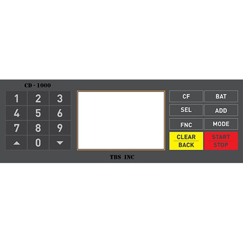 TBS CD-1000 Premium Multi-Currency Discriminator Money Counter USD, EURO, and Peso - CD-1000