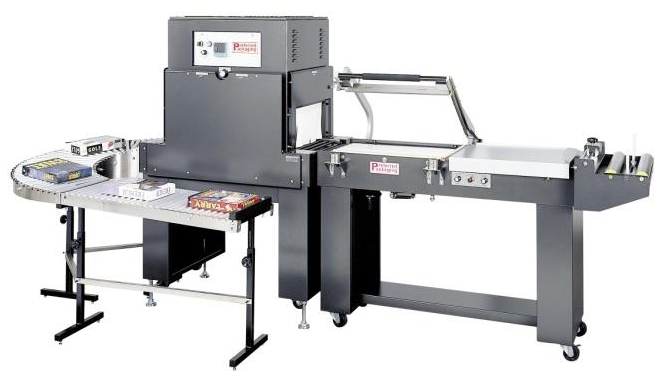 Excel Packaging PP1622MK L Sealer with PP1808-28 Shrink Tunnel 220V