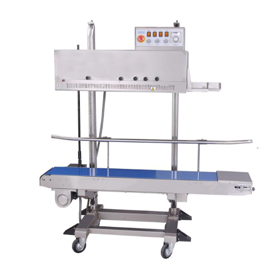 Preferred Pack PP-1120LD Vertical Band Sealer with Dry Ink Coder, Right to Left Feed Preferred Pack PP-1120LD Vertical Band Sealer with Dry Ink Coder, Right to Left Feed