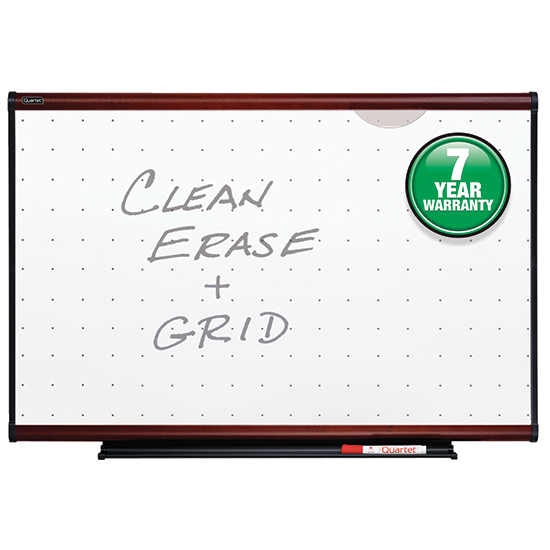 Quartet TE543M Prestige Total Erase Whiteboard, 3 x 2, Mahogany Finish Frame Quartet TE543M Prestige Total Erase Whiteboard, 3 x 2, Mahogany Finish Frame