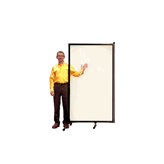 Screenflex CRD1 Clear Room Divider 1 Panel (3-4 Long) Screenflex CRD1 Clear Room Divider 1 Panel (3-4 Long), clear room dividers, screenflex 1 panel clear room divider