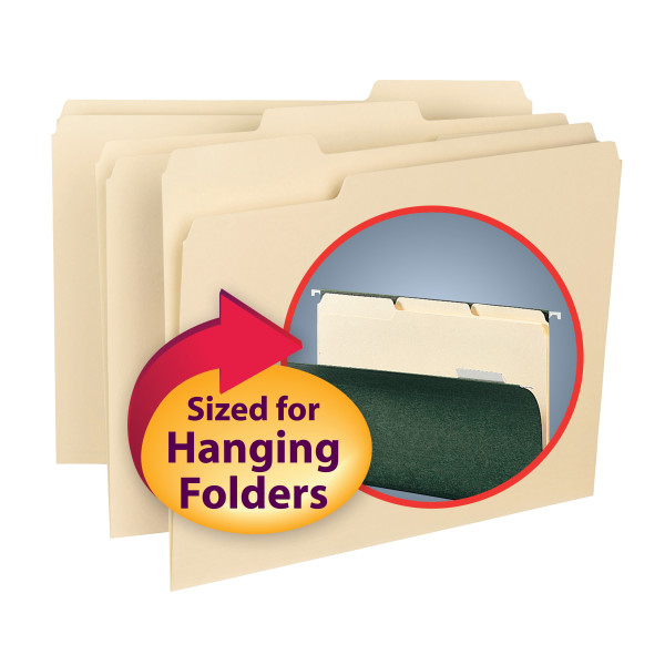 Smead 10230 Interior Folders (Bundle: 5 BX) Two Pocket Folder