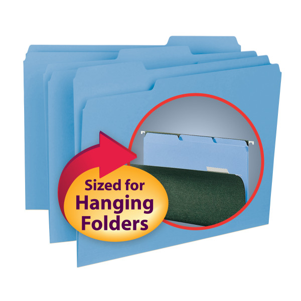 Smead 10239 Interior Folders File Pocket
